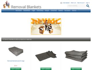 removalsblankets.co.uk screenshot