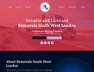 removalssouthwestlondon.co.uk screenshot