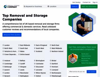 removalstoragecompany.co.uk screenshot