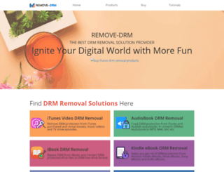 remove-drm.com screenshot