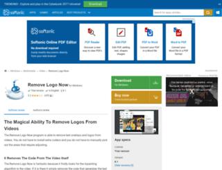 remove-logo-now.en.softonic.com screenshot