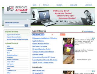 removeadware.com.au screenshot
