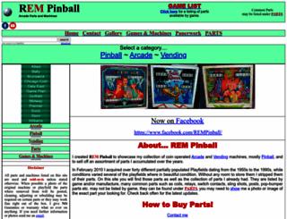 rempinball.com screenshot