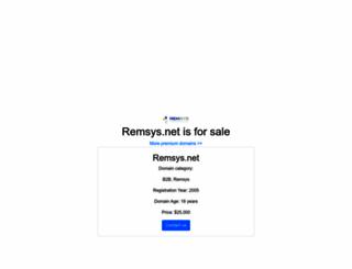 remsys.net screenshot