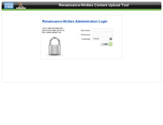 renaissance.wcities.com screenshot