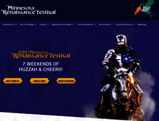 renaissancefest.com screenshot