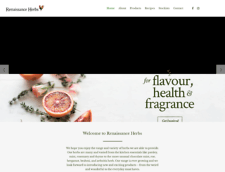 renaissanceherbs.com.au screenshot