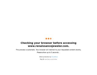 renaissancejeweler.com screenshot