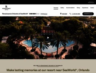 renaissanceseaworldorlando.com screenshot