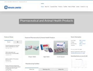 renata-ltd.com screenshot
