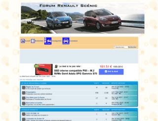 renault-scenic.forumpro.fr screenshot