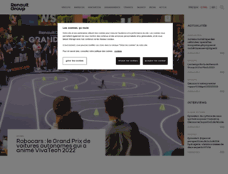 renault.com screenshot