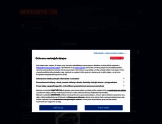 renault.noveauto.sk screenshot
