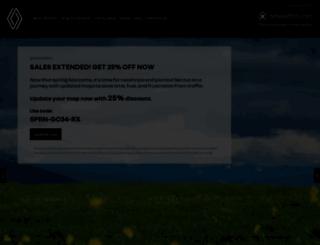 renault.welcome.naviextras.com screenshot