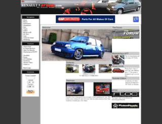 renault5gtturbo.com screenshot
