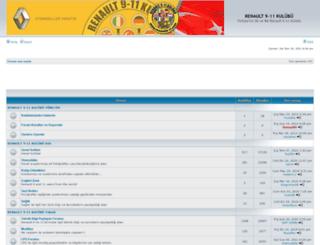 renault9-11.com screenshot