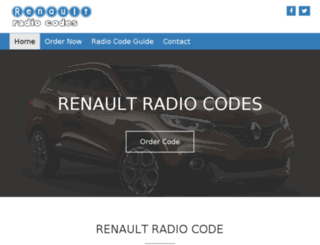 renaultradiocodes.co.uk screenshot