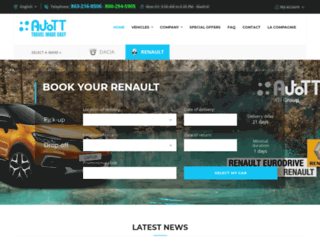 renaultusa.com screenshot