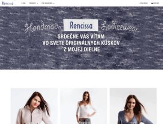 rencissa.sk screenshot