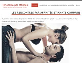rencontreaffinite.com screenshot