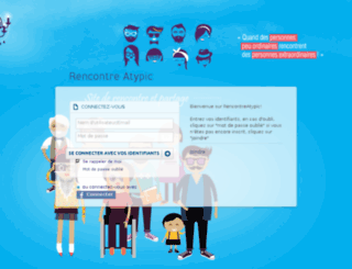 rencontreatypic.com screenshot