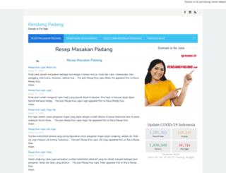 rendangpadang.com screenshot