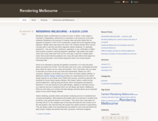 renderingservices.wordpress.com screenshot