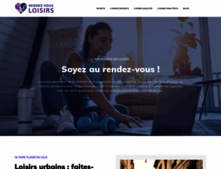 rendez-vous-loisirs.com screenshot