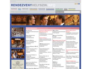 rendezvenyhelyszin.info screenshot