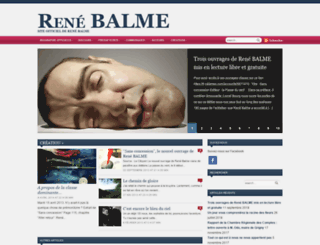 rene-balme.org screenshot