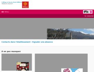 rene-billeres.entmip.fr screenshot