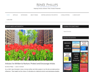 renee-phillips.com screenshot