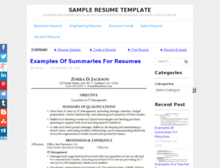 reneeresumes.com screenshot