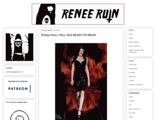 reneeruin.com screenshot