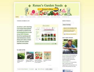 reneesgardenseeds.blogspot.com screenshot