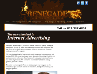 renegade-advertising.com screenshot