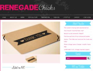 renegadechicks.com screenshot