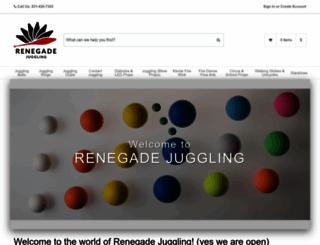 renegadejuggling.com screenshot