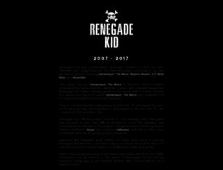 renegadekid.com screenshot