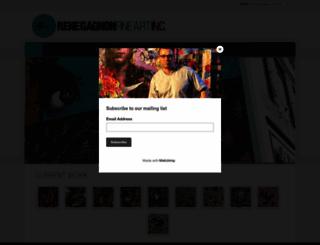renegagnonfineart.com screenshot