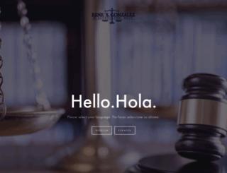 renegonzalezlaw.com screenshot