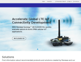 renesas.com screenshot
