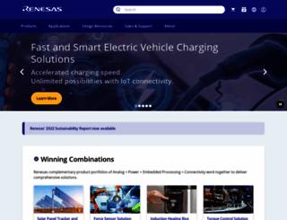 renesas.eu screenshot