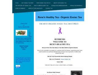 reneshealthytea.com screenshot