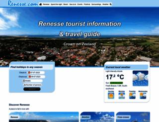 renesse.nl screenshot