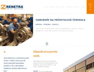 renetra.cz screenshot