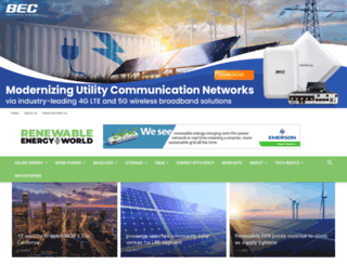 renewableenergyworld.com screenshot