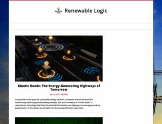 renewablelogic.com.au screenshot