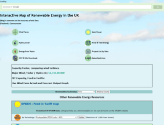renewables-map.co.uk screenshot
