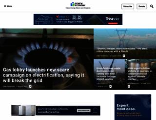 reneweconomy.com.au screenshot